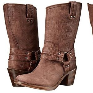 Frye Carmen Harness Short Boot